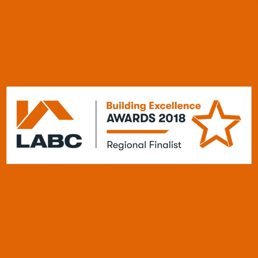 LABC Building Excellence Awards 2018 Regional Finalist
