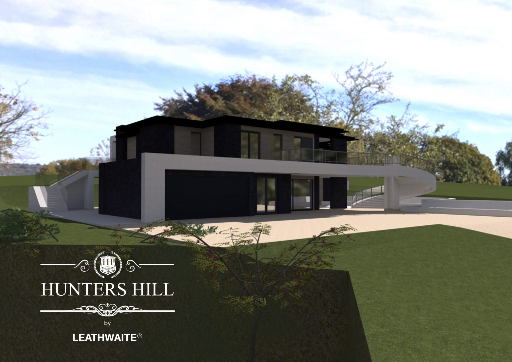 Hunters Hill, Farley Green, Albury